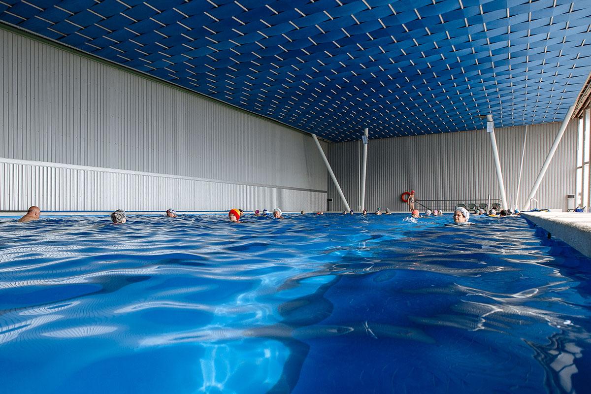 Закрытый бассейн в ТОК Судак